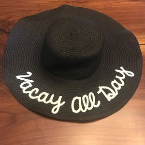 Vacay All Day Beach Hat